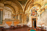 Italien, Kampanien, Sorrento: Wandmalereien, Societa Operaia di Mutuo Soccorso | Italy, Campania, Sorrento: wall paintings at Working Men's Club