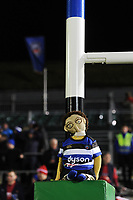 A general view of the commemorative rag doll prior to the match. European Rugby Champions Cup match, between Bath Rugby and the Scarlets on January 12, 2018 at the Recreation Ground in Bath, England. Photo by: Patrick Khachfe / Onside Images