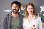 Actor Hugo Silva and actress Manuela Velles attends to red carpet at Sitges Film Festival in Barcelona, Spain October 07, 2017. (ALTERPHOTOS/Borja B.Hojas)