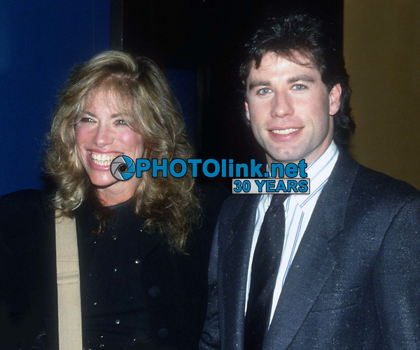 Carly Simon w/daughter Sally John Travolta 1984<br /> Photo By Adam Scull/PHOTOlink.net