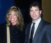 Carly Simon w/daughter Sally John Travolta 1984<br /> Photo By Adam Scull/PHOTOlink.net