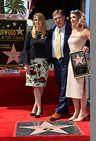 John Goodman with wife Anna Beth Goodman &amp; daughter Molly Goodman Hollywood Walk of Fame star ceremony honoring actor John Goodman. Los Angeles, USA 10 March  2017<br />