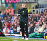 Chris Wilder manager of Sheffield Utd during the championship match at St Andrews Stadium, Birmingham. Picture date 21st April 2018. Picture credit should read: Simon Bellis/Sportimage