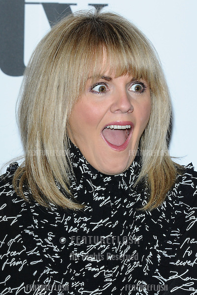 Sally Lindsay arriving for the Women in Film and Tv Awards 2012 at the Park Lane Hilton, London. 07/12/2012 Picture by: Steve Vas / Featureflash