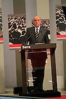 ATENÇÃO EDITOR: FOTO EMBARGADA PARA VEÍCULOS INTERNACIONAIS. SAO PAULO, 24  DE SETEMBRO DE 2012.  ELEIÇÕES  2012 - DEBATE TV GAZETA . o candidato do PSDB Jose Serra  durante o debate promovido pela TV Gazeta e pelo site Terra. ADRIANA SPACA - BRAZIL PHOTO PRESS