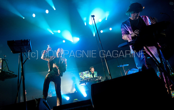 Belgian electro band The Subs performing at the Masters At Rock festival, in Torhout (Belgium, 28/08/2015)
