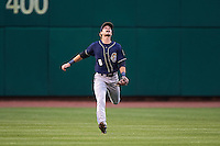San Antonio Missions outfielder Travis Jankowski (6) calls for a fly ball during a game against the NW Arkansas Naturals on May 30, 2015 at Arvest Ballpark in Springdale, Arkansas.  San Antonio defeated NW Arkansas 5-2.  (Mike Janes/Four Seam Images)