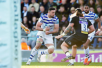 Elliott Stooke of Bath Rugby in possession. Gallagher Premiership match, between Exeter Chiefs and Bath Rugby on March 24, 2019 at Sandy Park in Exeter, England. Photo by: Patrick Khachfe / Onside Images