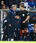 Ally McCoist furious with referee Steven McLean