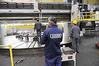 -INNSE presse  a Lambrate (Milano), gruppo Camozzi<br /> <br /> -INNSE presse in  Lambrate (Milan), Camozzi group