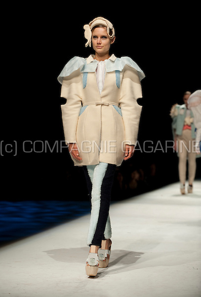 The annual graduation of the Fashion Department, Royal Academy of Fine Arts in Antwerp (Belgium, 16/06/2011)