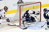 Matt Lombardi (BC - 24), Jeff Malcolm (Yale - 33), Kevin Peel (Yale - 23) - The Boston College Eagles defeated the Yale University Bulldogs 9-7 in the Northeast Regional final on Sunday, March 28, 2010, at the DCU Center in Worcester, Massachusetts.