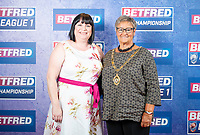 Picture by Allan McKenzie/SWpix.com - 25/09/2018 - Rugby League - Betfred Championship & League 1 Awards Dinner 2018 - The Principal Manchester- Manchester, England - Red carpet, Pat Crawshaw.