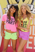 MIAMI BEACH , FL - MARCH 14: Chanel Iman and Elsa Hosk attend the Victoria Secret Pink spring break party at the Shelbourne on March 14, 2012 in Miami Beach, Florida. Credit: mpi04/MediaPunch Inc