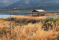 A small shelter near a dam on the way to Aphrodite hills in Cyprus.