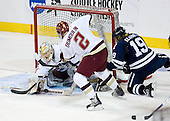 John Muse (BC - 1), Brian Dumoulin (BC - 2), Denny Kearney (Yale - 19) - The Boston College Eagles defeated the Yale University Bulldogs 9-7 in the Northeast Regional final on Sunday, March 28, 2010, at the DCU Center in Worcester, Massachusetts.