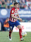 Atletico de Madrid's Lucas Hernandez during La Liga match. April 17,2016. (ALTERPHOTOS/Acero)