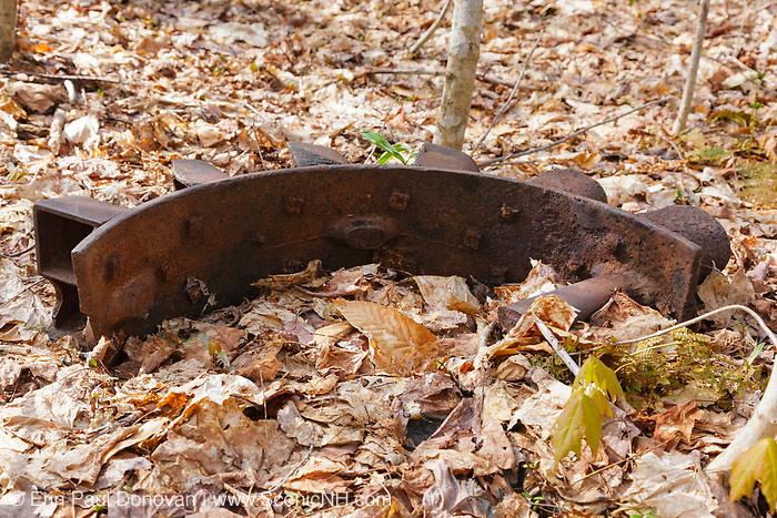 Pemigewasset Wilderness - Artifact at Camp 16 which was an old logging camp located along the old East Branch & Lincoln Railroad in Lincoln, New Hampshire. This was a logging railroad which operated from 1893-1948.