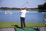 GEMERT-BAKEL - Driving Range met waterballen. Golfbaan Stippelberg. COPYRIGHT KOEN SUYK