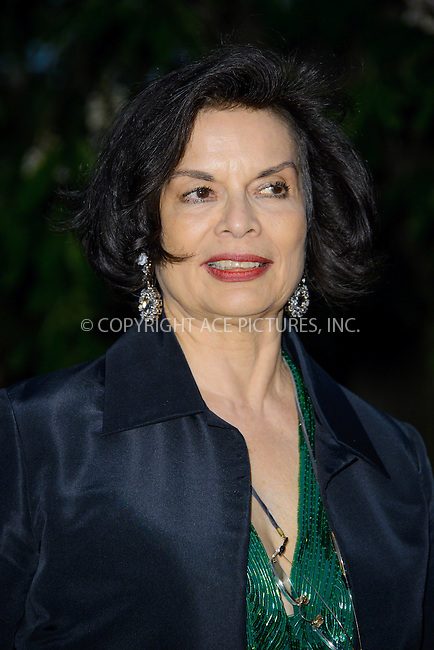 WWW.ACEPIXS.COM<br /> <br /> US Sales Only<br /> <br /> June 26 2013, London<br /> <br /> Bianca Jagger at the Serpentine Gallery Summer Party at Hyde Park on June 26 2013 in London<br /> <br /> By Line: Famous/ACE Pictures<br /> <br /> <br /> ACE Pictures, Inc.<br /> tel: 646 769 0430<br /> Email: info@acepixs.com<br /> www.acepixs.com