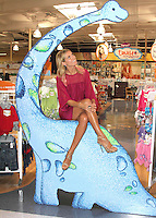 "Heidi Klum at the launch of her new line of children's clothing, ""Truly Scrumptious""- Los Angeles"