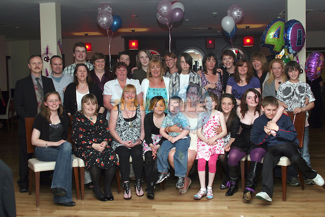 Rachel Kennedy's 40th in Nano Reids...Photo NEWSFILE/Jenny Matthews.(Photo credit should read Jenny Matthews/NEWSFILE)....This Picture has been sent you under the condtions enclosed by:.Newsfile Ltd..The Studio,.Millmount Abbey,.Drogheda,.Co Meath..Ireland..Tel: +353(0)41-9871240.Fax: +353(0)41-9871260.GSM: +353(0)86-2500958.email: pictures@newsfile.ie.www.newsfile.ie.FTP: 193.120.102.198.