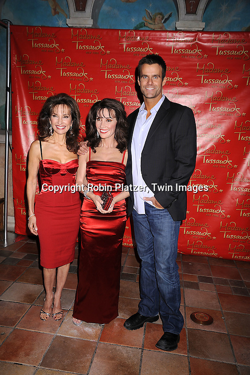 Susan Lucci, wax figure of Susan Lucci and Cameron Mathison.at the unveiling of the Susan Lucci wax figure at.Madame Tussaud's New York on February 12, 2008. Afterwards there were audtions for a walk-on role on All My Children...Photo by Robin Platzer, Twin Images..212-935-0770