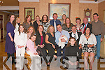 Yvonne McDaid Glin, and Eddie McDaid, Limerick, with baby Molly Ann God mother Sandra O'Connor, God father, Daren Reid , grandmother Breda O'Connor, family and friends at her christening party in Kirby's  Lanterns Hotel Tarbert on Saturday afternoon..   Copyright Kerry's Eye 2008