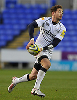 Reading, England. Danny Cipriani of Sale Sharks in action during the LV= Cup match between London Irish and Sale Sharks at Madejski Stadium on November 11, 2012 in Reading, England.