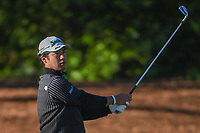 Hideki Matsuyama (JPN) watches his approach shot on 2 during round 1 of the Arnold Palmer Invitational at Bay Hill Golf Club, Bay Hill, Florida. 3/7/2019.<br /> Picture: Golffile | Ken Murray<br /> <br /> <br /> All photo usage must carry mandatory copyright credit (&copy; Golffile | Ken Murray)