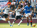 28.07.2019 Rangers v Derby County: Joe Aribo on the attack