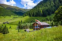 Austria, Tyrol, Westendorf (Tyrol): Hiking Village at Brixen Valley - at Gamskogel hut | Oesterreich, Tirol, Westendorf (Tirol): auf der Gamskogelhuette