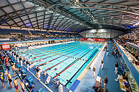 Picture by Allan McKenzie/SWpix.com - 17/12/2017 - Swimming - Swim England Nationals - Swim England National Championships - Ponds Forge International Sports Centre, Sheffield, England - The mens 400m medley team race sets off, gv, general view.