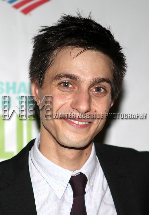 Gideon Glick attending the Opening Night Performance After Party for  The Public Theater's 'Into The Woods' at the Delacorte Theater in New York City on 8/9/2012.