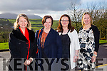 At the Annual Ladies Luncheon in aid of MS branch Tralee/West Kerry Branch at Ballyroe Heights Hotel on Sunday were l-r  Lisa Rice, Antoinette Butler, Marita Sullivan and Bernie Boyle