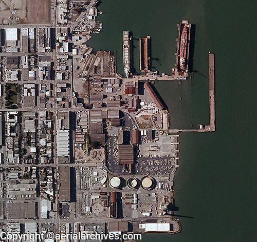 Pier 70 San Francisco Map.Aerial Photo Map Pier 70 San Francisco California Aerial Archives