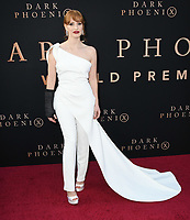 "04 June 2019 - Hollywood, California - Jessica Chastain. ""Dark Phoenix"" Los Angeles Premiere held at TCL Chinese Theatre. <br /> CAP/ADM/BT<br /> ©BT/ADM/Capital Pictures"
