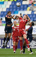 Shannon Boxx, Clare Rustad.  The USWNT defeated Canada, 1-0, at Suwon World Cup Stadium in Suwon, South Korea, to win the Peace Queen Cup.