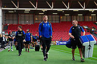 Dave Attwood and the rest of the Bath Rugby team arrive at Ashton Gate. Gallagher Premiership match, between Bristol Bears and Bath Rugby on August 31, 2018 at Ashton Gate Stadium in Bristol, England. Photo by: Patrick Khachfe / Onside Images