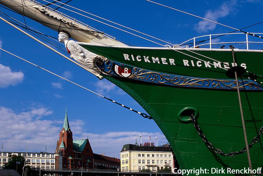 Museumsschiff Rickmer Rickmers in Hamburg, Deutschland
