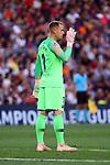 UEFA Champions League 2018/2019 - Matchday 1.<br /> FC Barcelona vs PSV Eindhoven: 4-0.<br /> Marc-Andre ter Stegen.