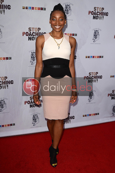 Erica Ash<br /> at the Stop Poaching Now 2016 Gala, Ago Restaurant, West Hollywood, CA 05-25-16<br /> David Edwards/Dailyceleb.com 818-249-4998