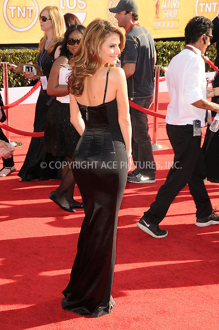 WWW.ACEPIXS.COM . . . . .  ....January 29 2012, LA....Maria Menounos arriving at the 18th Annual Screen Actors Guild Awards at The Shrine Auditorium on January 29, 2012 in Los Angeles, California.....Please byline: PETER WEST - ACE PICTURES.... *** ***..Ace Pictures, Inc:  ..Philip Vaughan (212) 243-8787 or (646) 769 0430..e-mail: info@acepixs.com..web: http://www.acepixs.com