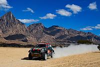 6th January 2020, Al Wajh to Neom, Saudi Arabia; 311 Terranova Orlando arg, Graue Bernardo arg, Mini John Cooper Works Rally, X-Raid Mini JCW Team  Dakar Rally 2020  - Editorial Use