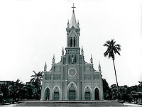 Kathedrale in Danang, Vietnam 1991