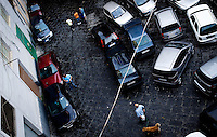 A street view of Naples, Italy. ..PHOTOS/ MATT NAGER