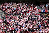 Sunderland fans during Charlton Athletic vs Sunderland AFC, Sky Bet EFL League 1 Play-Off Final Football at Wembley Stadium on 26th May 2019