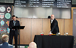The 2016 Youdan Trophy draw is made at the National Football Museum, Manchester, United Kingdom, 19th May 2016. Photo by Glenn Ashley.