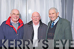 Delegates at the County Board Meeting on Monday night, from left: Pat O'Brien (Dr Crokes), John Somers (Currow) and Bart Moriarty (Laune Rangers).