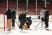 - The Providence College Friars practiced at Fenway on Friday, January 6, 2017, in Boston, Massachusetts.